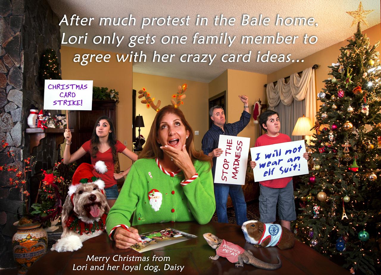 funny family christmas cards photos ideas